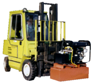 electromagnetic-fork-lift-road-sweeper